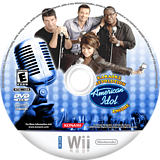 Karaoke Revolution Presents: American Idol Encore Wii disc (RIEEA4)
