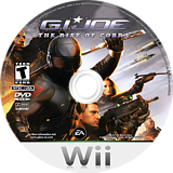 G.I. JOE: The Rise of Cobra Wii disc (RIJE69)