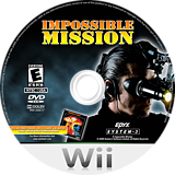 Impossible Mission Wii disc (RIME36)