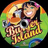 Burger Island Wii disc (RIWENR)