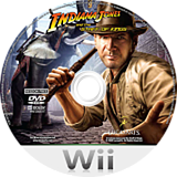 Indiana Jones and the Staff of Kings Wii disc (RJ8E64)