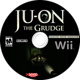 Ju-on: The Grudge Wii disc (RJOEXJ)