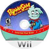 Pajama Sam: Don't Fear the Dark Wii disc (RJQE5G)