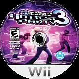 Dance Dance Revolution: Hottest Party 3 Wii disc (RJREA4)