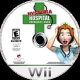 Hysteria Hospital: Emergency Ward Wii disc (RJVEGN)