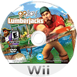 Go Play Lumberjacks Wii disc (RJXE5G)