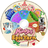 Kirby's Epic Yarn Wii disc (RK5E01)
