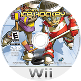 Kidz Sports: Ice Hockey Wii disc (RKIENR)