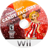 Candace Kane's Candy Factory Wii disc (RKQENR)