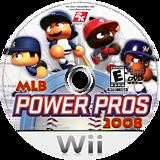 MLB Power Pros 2008 Wii disc (RL8E54)