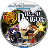 Legend of the Dragon Wii disc (RLDEGY)