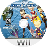 Code Lyoko: Quest for Infinity Wii disc (RLKEGY)