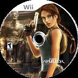 Tomb Raider: Anniversary Wii disc (RLRE4F)