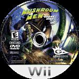 Mushroom Men: The Spore Wars Wii disc (RM9EGM)
