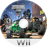 Monster Jam Wii disc (RMOE52)