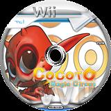 Cocoto Magic Circus Wii disc (RMRE5Z)
