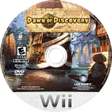 Dawn of Discovery Wii disc (RN4E41)
