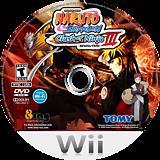 Naruto Shippuden: Clash of Ninja Revolution 3 Wii disc (RNEEDA)