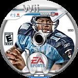 Madden NFL 08 Wii disc (RNFE69)