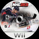 NHL 2K9 Wii disc (RNLE54)