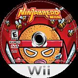 Ninjabread Man Wii disc (RNME5Z)