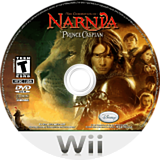The Chronicles of Narnia: Prince Caspian Wii disc (RNNE4Q)