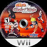 Naruto: Clash of Ninja Revolution Wii disc (RNXEDA)