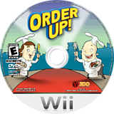 Order Up! Wii disc (ROXE20)
