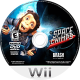 Space Chimps Wii disc (RP9ERS)