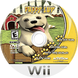 Puppy Luv: Your New Best Friend Wii disc (RPTE52)