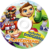 EA Playground Wii disc (RPXE69)