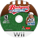 Backyard Football '09 Wii disc (RQQE70)