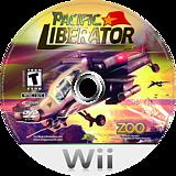 Pacific Liberator Wii disc (RQVE20)