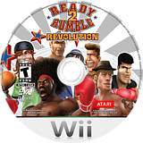Ready 2 Rumble Revolution Wii disc (RR5E70)