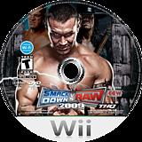 WWE SmackDown vs. Raw 2009 Wii disc (RR9E78)