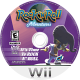 Rock 'N' Roll Adventures Wii disc (RRAE5Z)