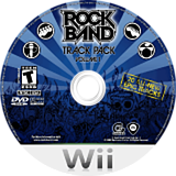 Rock Band Track Pack: Vol. 1 Wii disc (RREE69)