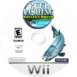 Reel Fishing: Angler's Dream Wii disc (RRFEE9)