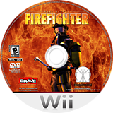 Real Heroes: Firefighter Wii disc (RRRE5Z)