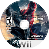 Spider-Man 3 Wii disc (RS3E52)