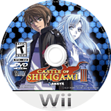 Castle of Shikigami III Wii disc (RS4EXS)