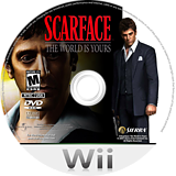 Scarface: The World Is Yours Wii disc (RSCE7D)