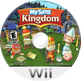 MySims Kingdom Wii disc (RSHE69)
