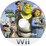 Shrek The Third Wii disc (RSKE52)