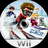 We Ski Wii disc (RSQEAF)