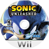 Sonic Unleashed Wii disc (RSVE8P)