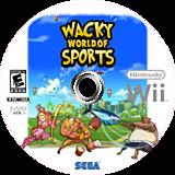 Wacky World of Sports Wii disc (RTIE8P)