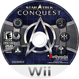 Star Trek: Conquest Wii disc (RTJE68)