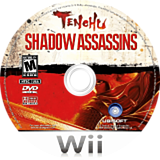 Tenchu: Shadow Assassins Wii disc (RTNE41)