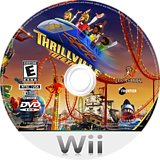 Thrillville: Off the Rails Wii disc (RTVE64)